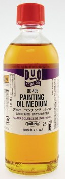 DUO Aqua Oil Painting Medium, 200ml Bottle