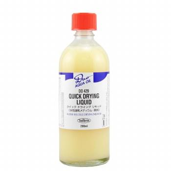 DUO Aqua Oil Quick Drying Liquid, 200ml Bottle