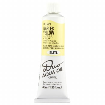 Holbein DUO Aqua Oil Color, 40ml, Naples Yellow