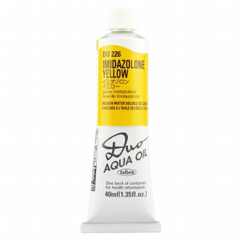 Holbein DUO Aqua Oil Color, 40ml, Imidazolone Yellow