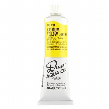 Holbein DUO Aqua Oil Color, 40ml, Cadmium Yellow Light Hue