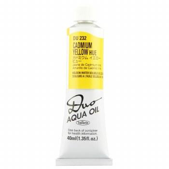 Holbein DUO Aqua Oil Color, 40ml, Cadmium Yellow Hue
