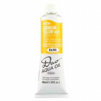 Holbein DUO Aqua Oil Color, 40ml, Cadmium Yellow Deep