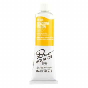 Holbein DUO Aqua Oil Color, 40ml, Benzidine Yellow