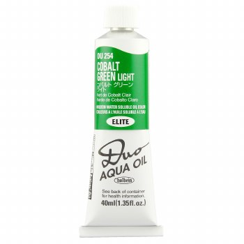 Holbein DUO Aqua Oil Color, 40ml, Cobalt Green Light