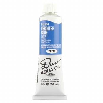 Holbein DUO Aqua Oil Color, 40ml, Verditer Blue
