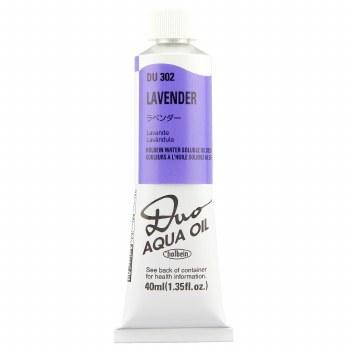 Holbein DUO Aqua Oil Color, 40ml, Lavender