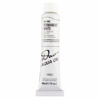 Holbein DUO Aqua Oil Color, 50ml, Permanent White