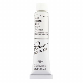 Holbein DUO Aqua Oil Color, 50ml, Ceramic White