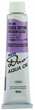 DUO Aqua Oil Quick Drying Pastes, Gloss Paste - 50ml