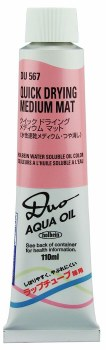 DUO Aqua Oil Quick Drying Pastes, Mat Paste - 110ml
