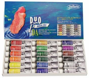 DUO Aqua Oil 18-Tube 10ml Set, DUO Aqua Oil 18-Tube 10ml Set