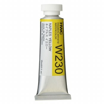 Holbein Watercolor, 15ml, Naples Yellow