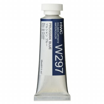 Holbein Watercolor, 15ml, Prussian Blue