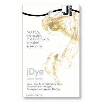 iDye Fabric Dye, 100% Natural Fabric iDye, Ecru