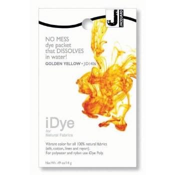 iDye Fabric Dye, 100% Natural Fabric iDye, Golden Yellow