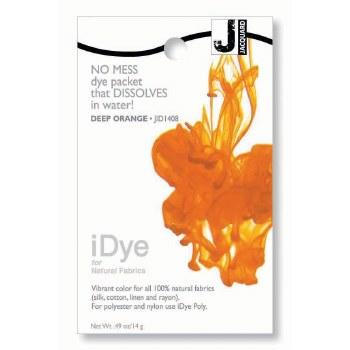 iDye Fabric Dye, 100% Natural Fabric iDye, Deep Orange