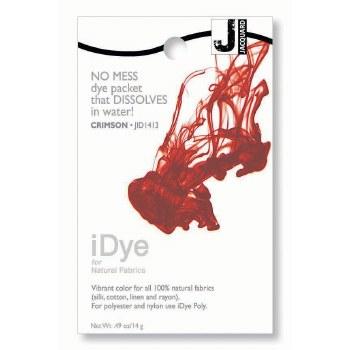iDye Fabric Dye, 100% Natural Fabric iDye, Crimson