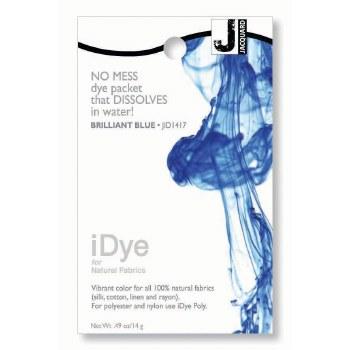 iDye Fabric Dye, 100% Natural Fabric iDye, Brilliant Blue