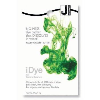 iDye Fabric Dye, 100% Natural Fabric iDye, Kelly Green