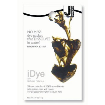 iDye Fabric Dye, 100% Natural Fabric iDye, Brown