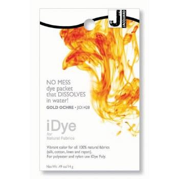 iDye Fabric Dye, 100% Natural Fabric iDye, Gold Ochre