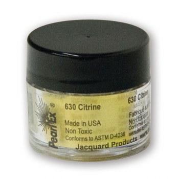 Pearl Ex Mica Pigments, 3g Jars, Citrine