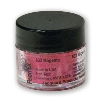 Pearl Ex Mica Pigments, 3g Jars, Magenta