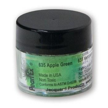 Pearl Ex Mica Pigments, 3g Jars, Apple Green