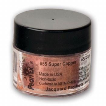 Pearl Ex Mica Pigments, 3g Jars, Super Copper