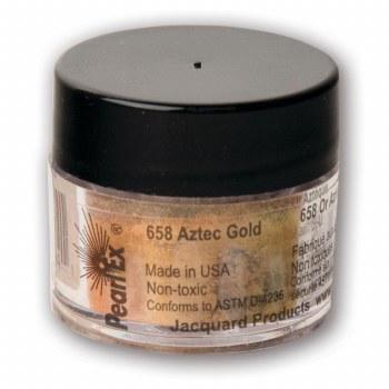 Pearl Ex Mica Pigments, 3g Jars, Aztec Gold