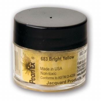 Pearl Ex Mica Pigments, 3g Jars, Bright Yellow