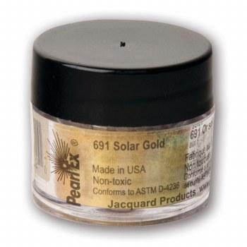 Pearl Ex Mica Pigments, 3g Jars, Solar Gold