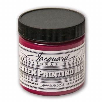 Professional Screen Printing Ink, 4 oz. Jars, Magenta