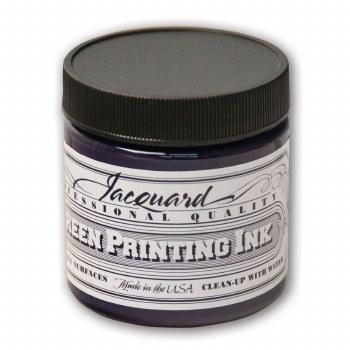 Professional Screen Printing Ink, 4 oz. Jars, Violet