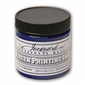 Professional Screen Printing Ink, 4 oz. Jars, Royal Blue