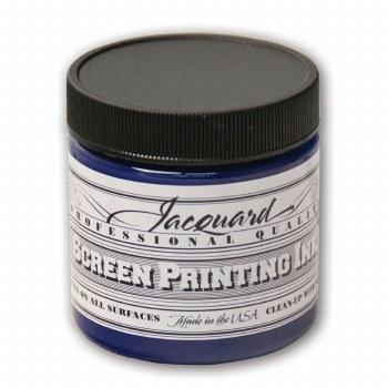 Professional Screen Printing Ink, 4 oz. Jars, Blue