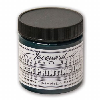 Professional Screen Printing Ink, 4 oz. Jars, Green