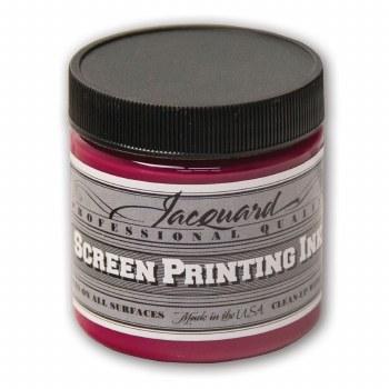 Professional Screen Printing Ink, 4 oz. Jars, Process Magenta