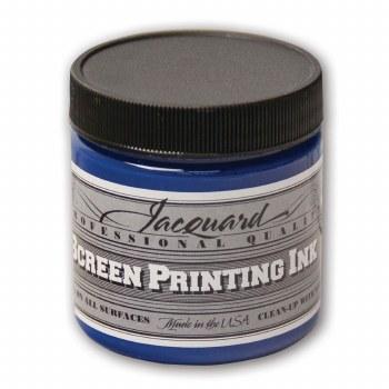 Professional Screen Printing Ink, 4 oz. Jars, Process Cyan