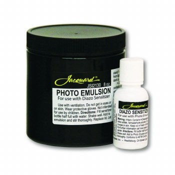 Photo Emulsion & Diazo Sensitizer, 8 oz. Photo Emulsion & Diazo Sensitizer