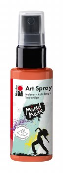 Acrylic Spray Paint, Red Orange - 50ml Spray Can
