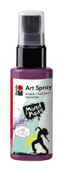 Acrylic Spray Paint, Aubergine - 50ml Spray Can