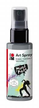Acrylic Spray Paint, Silver - 50ml Spray Can