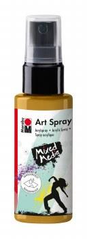Acrylic Spray Paint, Gold - 50ml Spray Can