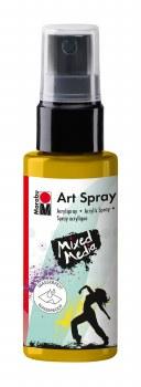 Acrylic Spray Paint, Sunshine Yellow - 50ml Spray Can