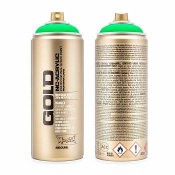 Montana GOLD Spray Color, Acid Green - 400ml Spray Can