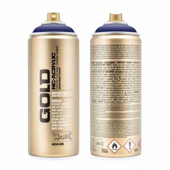 Montana GOLD Spray Color, Blue Velvet - 400ml Spray Can