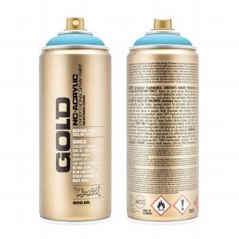 Montana GOLD Spray Color, Baby Blue - 400ml Spray Can