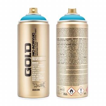Montana GOLD Spray Color, Bermuda - 400ml Spray Can